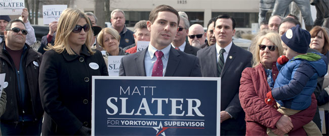 Mid-Hudson News: Slater announces Yorktown supervisor run