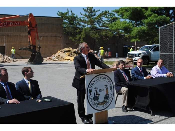 News 12: Groundbreaking Ceremony for JV Mall Renovation