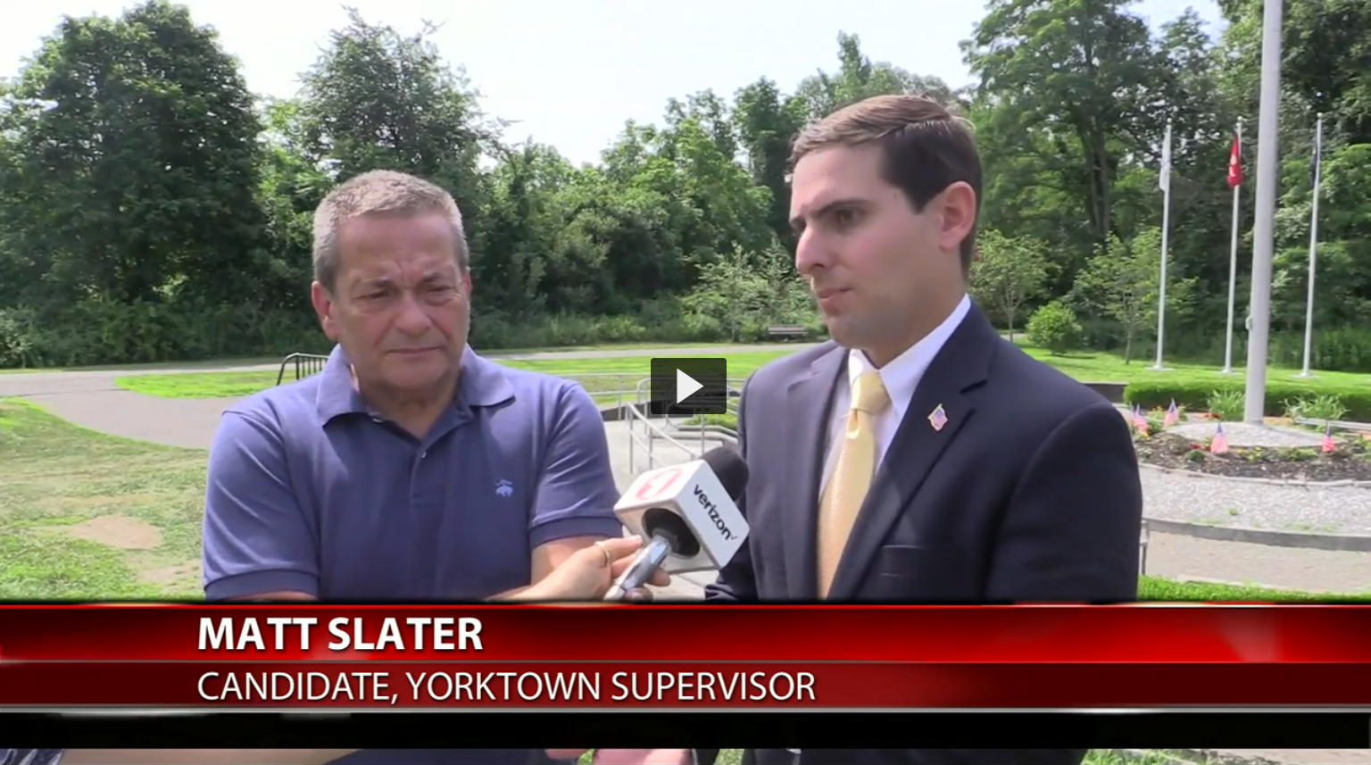 Fios1 News: Slater wants veterans services expansion in Yorktown