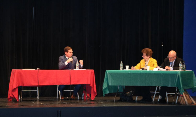 YORKTOWN, NY – For more than a decade the Yorktown Chamber of Commerce has hosted a debate for candidates vying for local political office. On Wednesday, the Chamber hosted the only debate for Yorktown voters but notably missing were Supervisor Ilan Gilbert, Town Clerk Diana Quast and their runningmates. Instead, reports have emerged that Gilbert […]