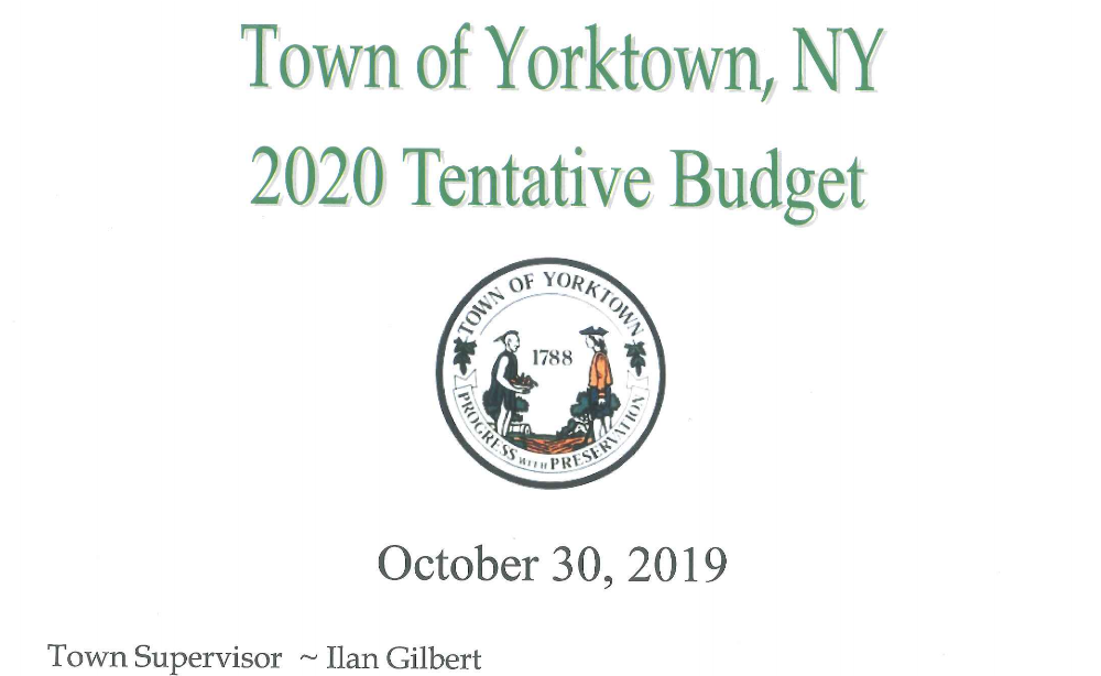 Raises Taxes & Increases Spending For Second Straight Year YORKTOWN, NY – Supevisor Ilan Gilbert quietly released his proposed budget for 2020 that raises taxes and increases spending for the second straight year.  The tax increase is projected to double the following year despite municipalities being sold on additional windfalls from increasing the county sales […]