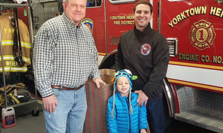 YORKTOWN HEIGHTS, NY – Yorktown Supervisor Elect Matt Slater took advantage of Operation Toy Drop to teach his four year old son Charlie the importance of helping those in need.  Operation Toy Drop, which is organized and hosted by the J.I.M.M.Y. Foundation, collects and delivers toys to kids at the Maria Fareri Children's Hospital.  The […]