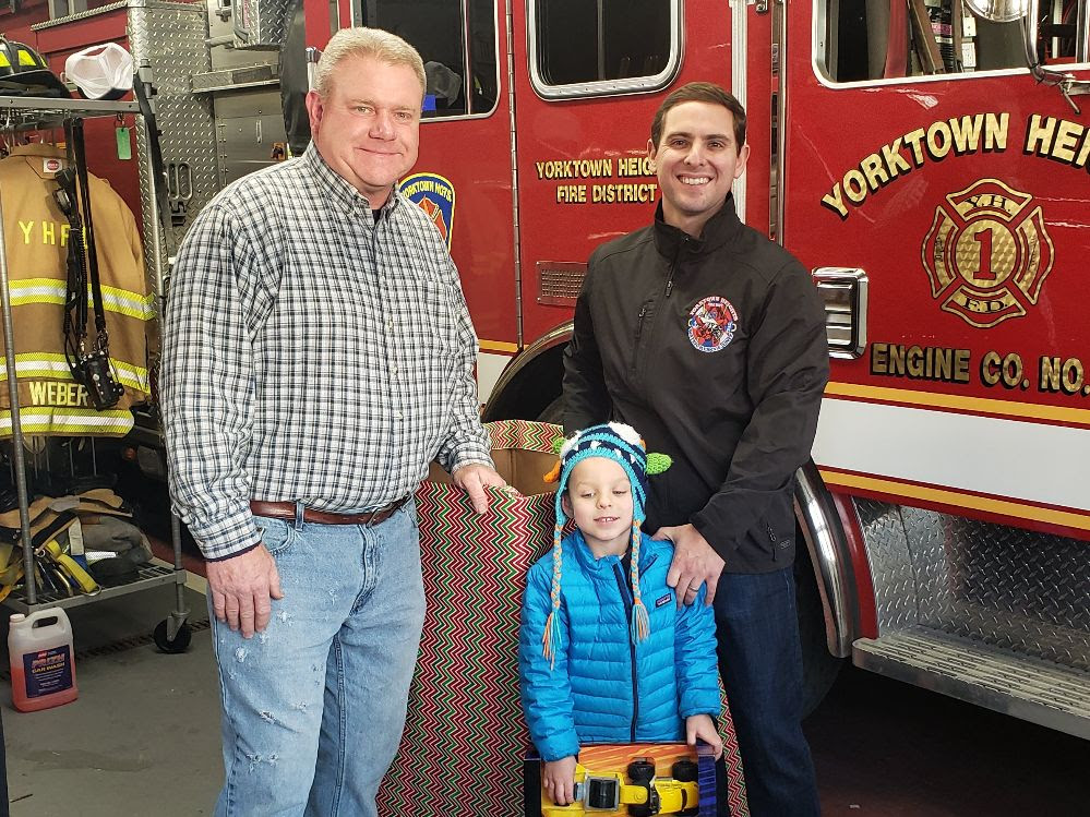 Operation Toy Drop set to deploy from Yorktown Fire Department